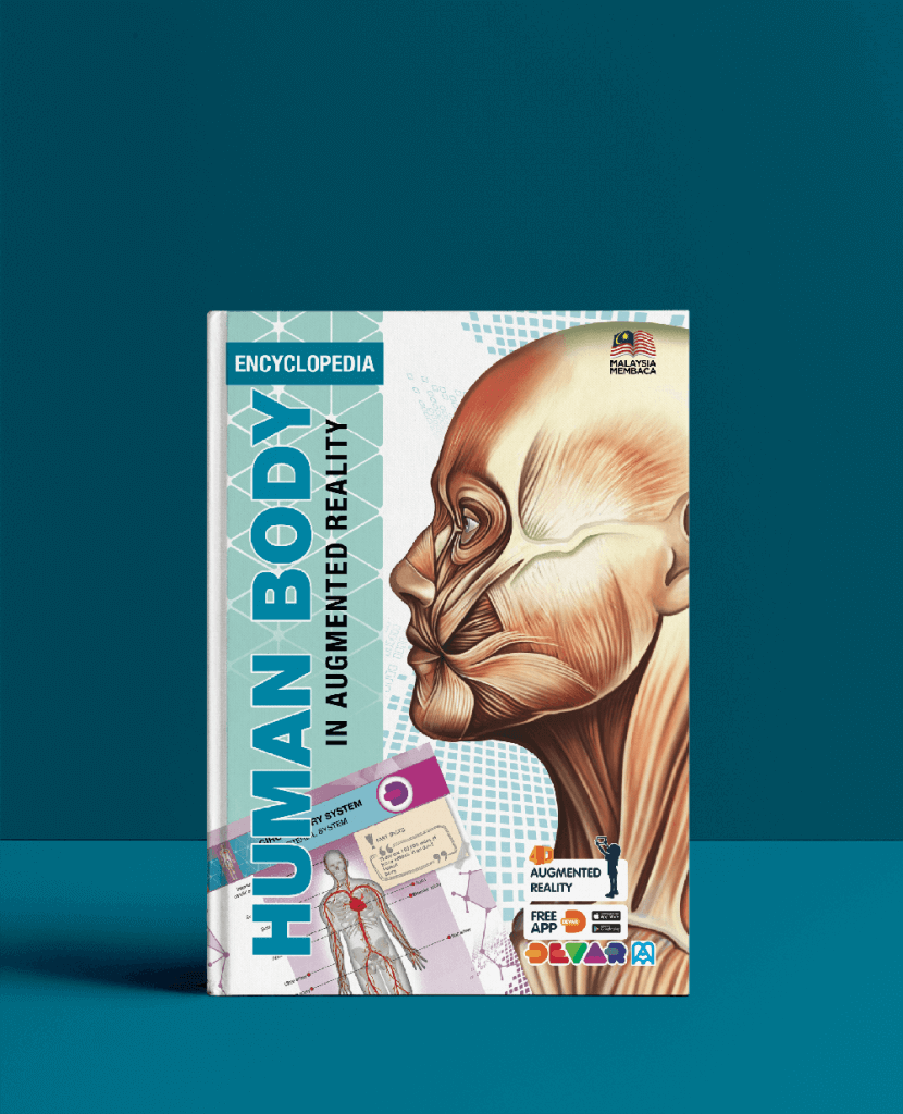 Human Body AR Book Front