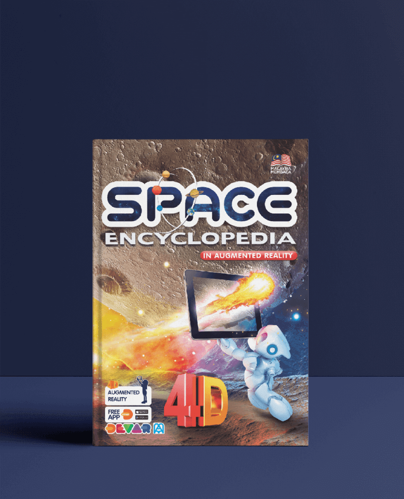 Space AR Book Front