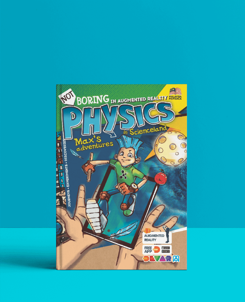 Physics AR Book Front